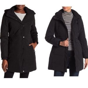 Lucky Brand Missy Faux Shearling Line Hooded Parka